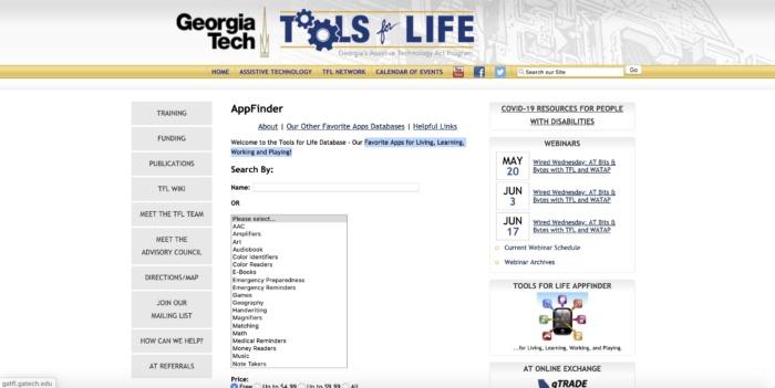 Tools for Life Screenshot