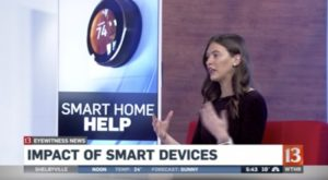 WTHR 13 - INDATA Smart Home Kits - 2nd clip