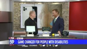 Fox 59 - New iOS 13 Accessibility Features Interview
