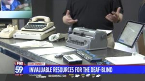 Fox 59 - INDATA and iCanConnect Resources for Deaf-Blind Interview