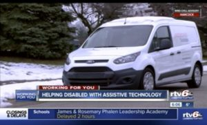 RTV6 - Assistive Technology Mobile Unit - INDATA Lending Program Interview