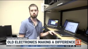 WTHR 13 - Spring Cleaning - old electronics making a difference interview