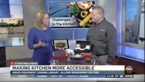 WTHR 13 - Making the Kitchen more Accessible Interview