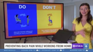 WTHR 13 - Work from Home Ergonomics Interview