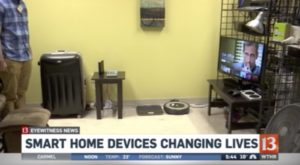 WTHR 13 - INDATA Smart Home Kits Interview