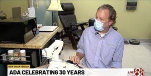 WISHTV 8 Interview - ADA 30yr Anniversary