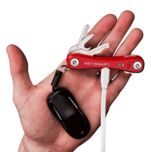 keysmart pro with tile in red