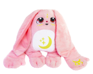 moon pal weighted stuffed animal in pink