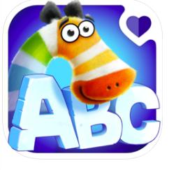 zebrainy abc learning game app logo