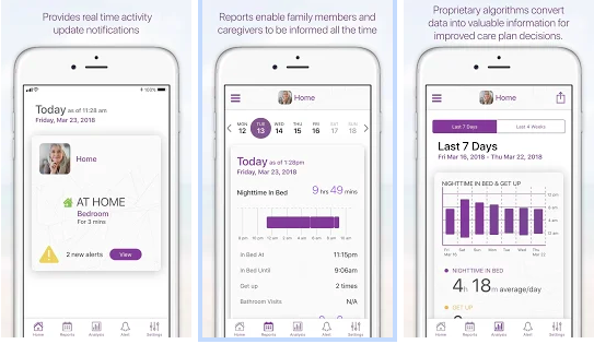 Vericare remote monitoring system app