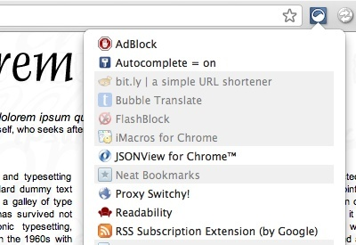extensity extension google chrome browser