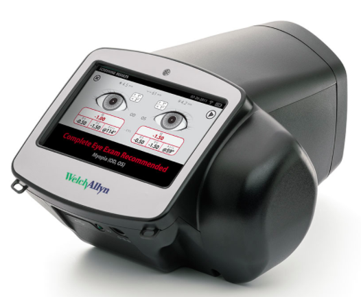 spot vision screener from welch allyn