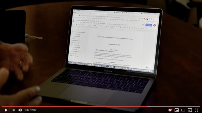 screenshot of Google OCR tech tip