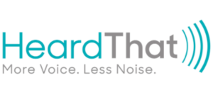heardthat app for hearing impairments