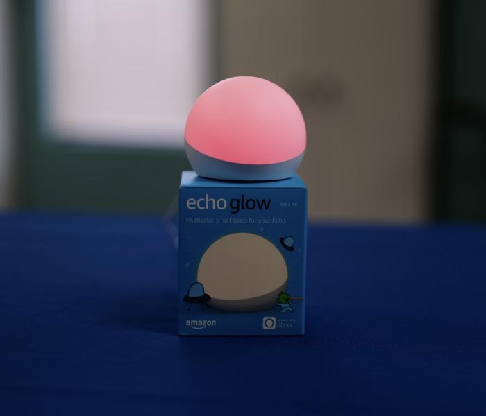 Echo glow smart lamp gift