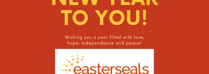 Happy New Year with ESC logo