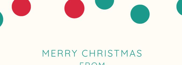 Merry Christmas with ESC logo