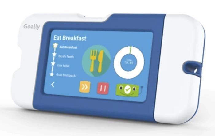 Goally device for children image