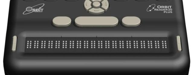 orbit reader 20 plus braille display