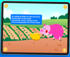 smart tales interactive books app for STEM