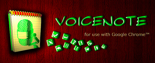 voicenote ii chrome extension