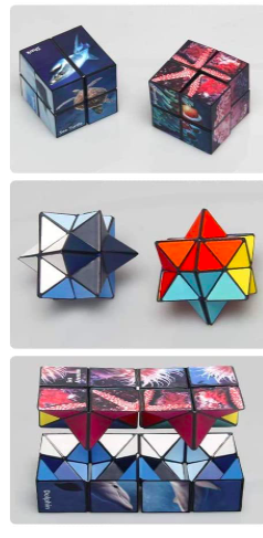 shonco magic star infinity cube fidget image