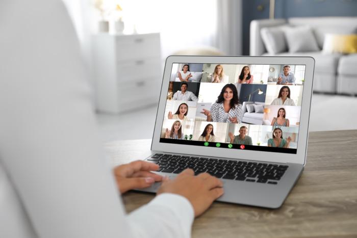 A virtual platform for a video meeting
