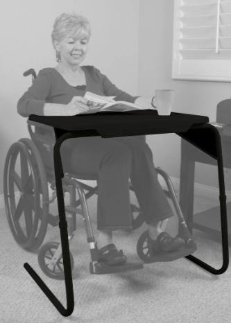 table-mate v tv tray wheelchair