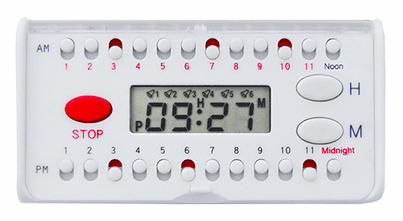 e-pill 6 alarm pocket medication reminder