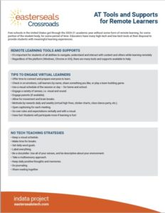 Tools and Supports for Remote learners PDF download