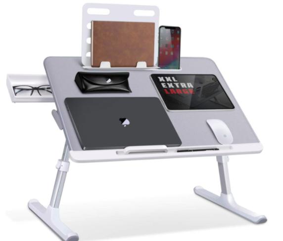SAIJI adjustable laptop stand example