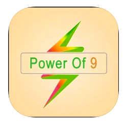 power of 9 app logo