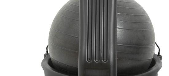 modern ball chair fidgeting solution