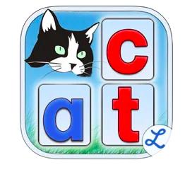 montessori words phonics app logo