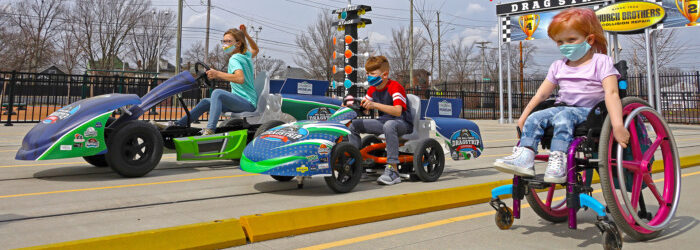 The Children's Museum offers inclusive, accessible outdoor sports