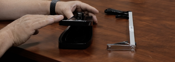 screenshot of one-handed nail clipper and pistol grip nail clipper